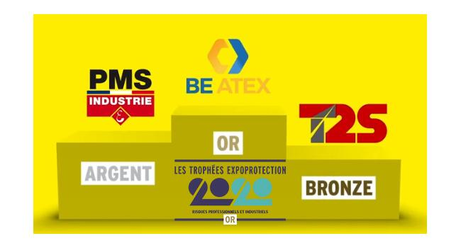 BE ATEX remporte le Trophée OR Expoprotection 2020